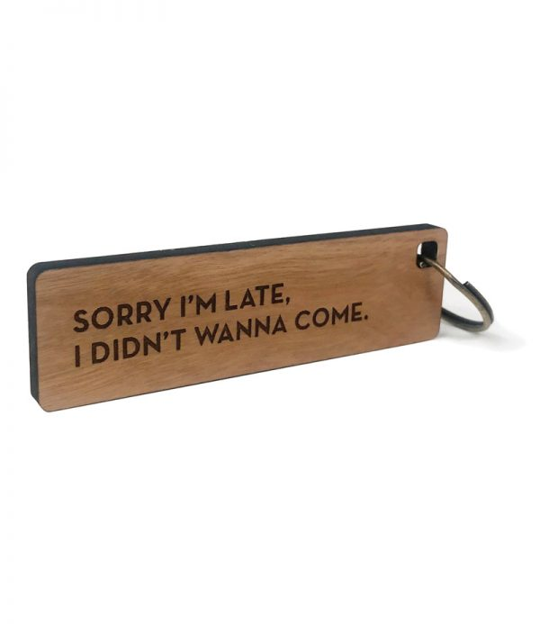 Wood Key Tags