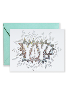 Yay! Greeting Card