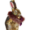 Arctic Bunny Ornament-- Brown