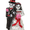 Bride and Groom Skeleton Ornament