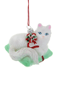 Christmas Kitten Ornament