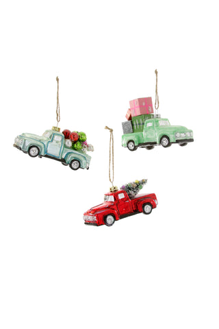 Country Side Truck Ornament