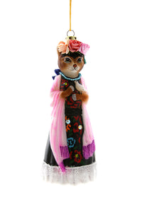 Frida Catlo Ornament