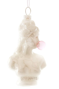 Classical Bust with Bubble Gum Ornament