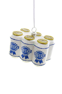 Six Pack Beer Ornament