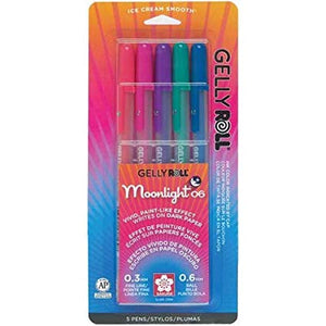 Gelly Roll Moonlight Dusk 5 Pack