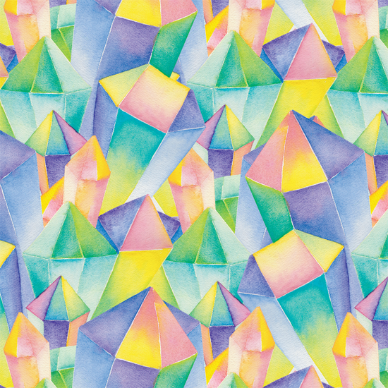 Gems Wrapping Paper