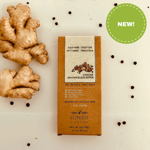 Ginger with Pepper Infusion Chocolate Bar