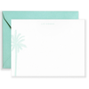 Personalized Palm Tree Social Stationery