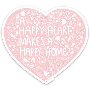 Happy Heart Sticker