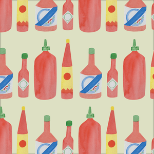 Hot Sauce Wrapping Paper
