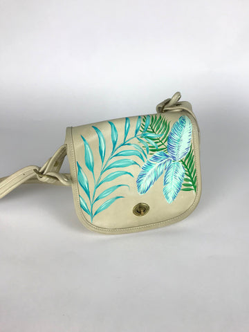 Vintage Hand-Painted Purse - Throw a Little Shade II
