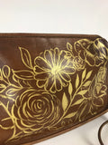 Vintage Hand-Painted Purse - Patina