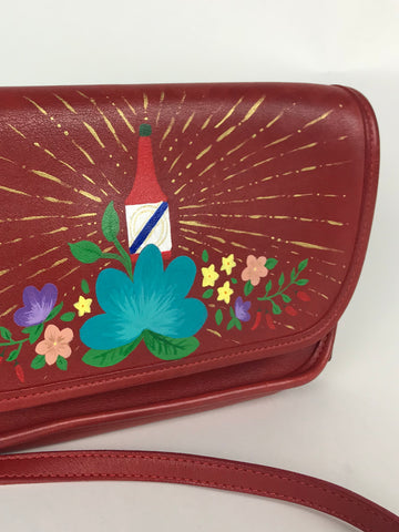 Vintage Hand-Painted Purse - Haute Sauce