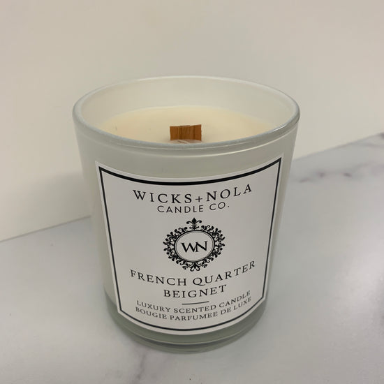 French Quarter Beignet Candle