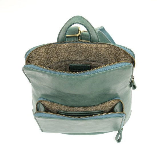 Seafoam Julia Mini Backpack