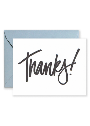 Thanks! Greeting Card