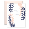 Many Many Many Thanks Greeting Card