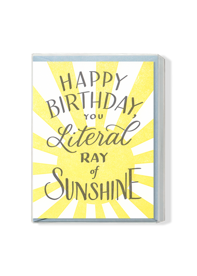 Literal Ray of Sunshine Boxed Set