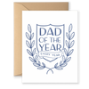 Dad Of The Year Greeting Card