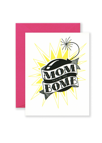 Mom Bomb Greeting Card