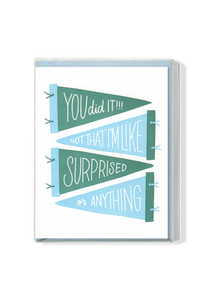 SPECIAL EDITION You Did It! Boxed Set - Green and Blue