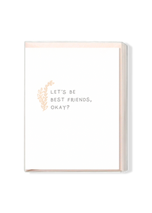 Let's Be Best Friends, Okay? Boxed Set