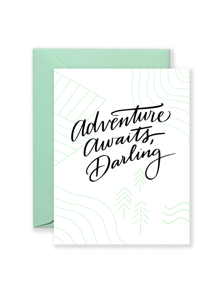 Adventure Awaits Darling Greeting Card