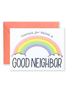Good Neighbor Greeting Card