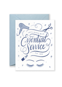 Essential Service Greeting Card