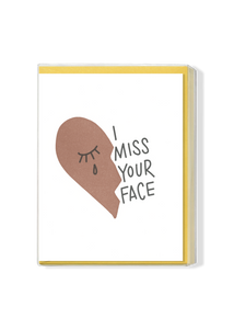 Miss Your Face Boxed Set - Ochre