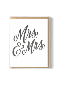 Mrs. & Mrs. Boxed Set