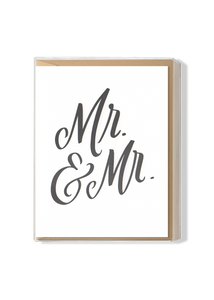 Mr. & Mr. Boxed Set