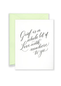 Love With Nowhere To Go Greeting Card