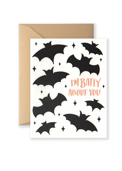 Batty About You Greeting Card