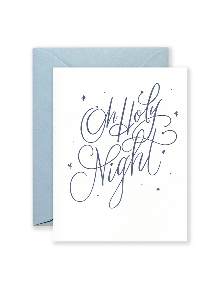 Oh Holy Night Holiday Greeting Card