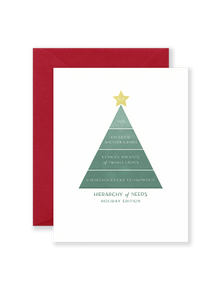 Holiday Hierarchy Greeting Card