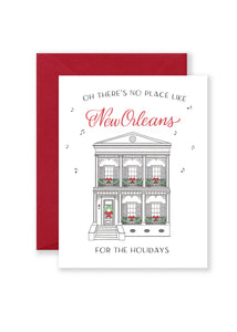 NOLA for the Holidays Greeting Card