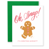 Oh Snap! It's Christmas Greeting Card