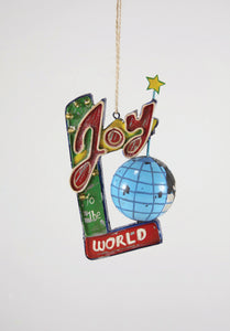 Roadside Holiday Sign Ornament