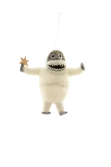 Felted Abominable Snowman