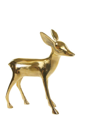 Brass Deer Decoration
