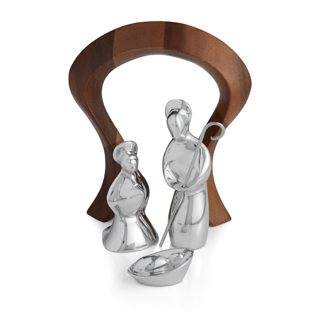 Miniature Nativity Scence