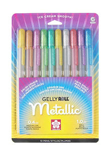 Gelly Roll Metallic 10 Pack