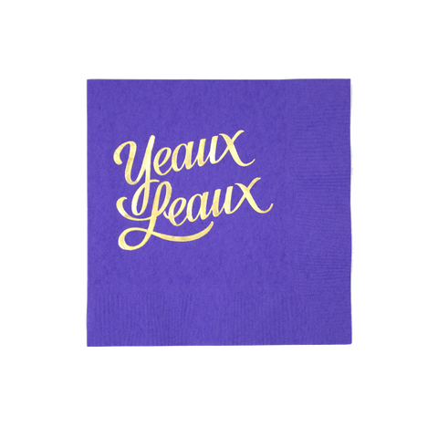 Yeaux Leaux Cocktail Napkins