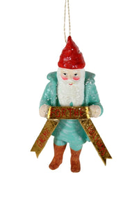 Jolly Gnome Ornament