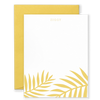 Personalized Palms Social Stationery