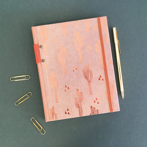 Cactus Cuties Foil Notebook