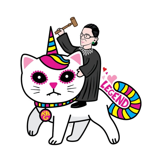 RBG Kitty Unicorn Sticker