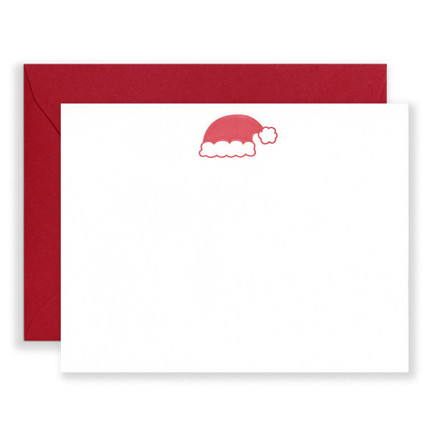 Santa Hat Holiday Stationery Set